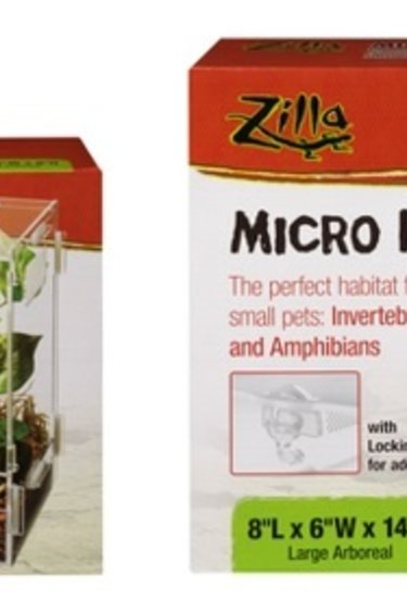 Zilla Micro habitats arboricoles - Micro Habitats Aboreal