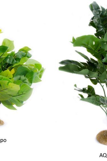 Aqua Globe Plante en soie Monstera - Monstera XL Silk Plant