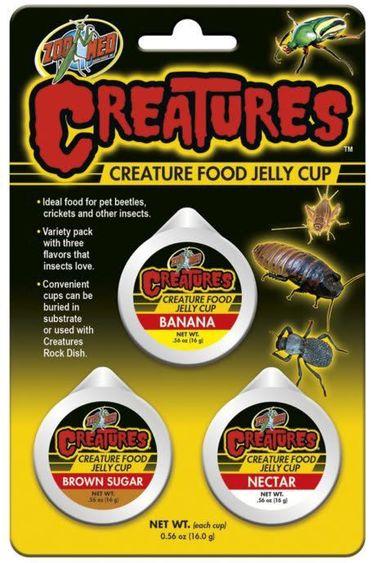 Zoomed Nourriture en gelée pour insectes – pt de 3 Série Creatures