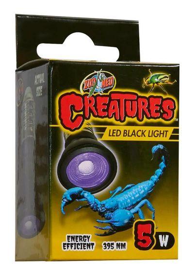 Zoomed Ampoule noire DEL 5 W – Série Creatures