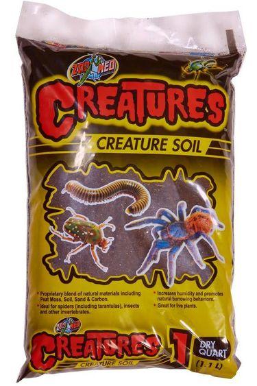 Zoomed Substrat 1qt Creatutes Soil
