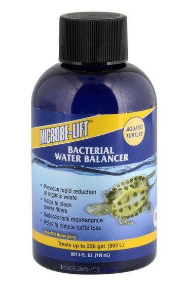 Microbe-Lift Équilibreur de bactérie pour tortue aquatique - Aquatic Turtle Bacterial Water Balancer – 4 oz liquide