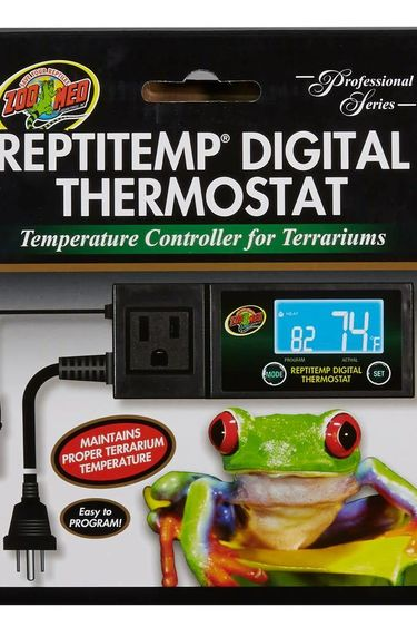 Zoomed Thermostat digital ReptiTemp®