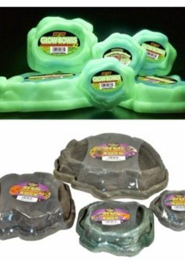 "Zoomed Bol à eau et à nourriture ""Repti Rock"" - Combo Repti Rock Food and Water Dishes"