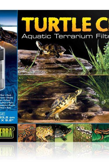Exoterra Falaise pour tortue grande 14.5 X 9 X 9.2 po