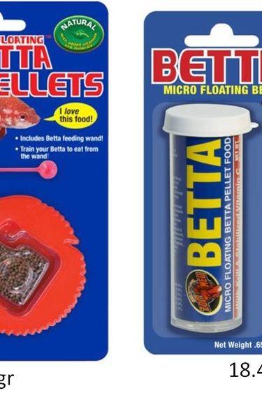 Zoomed Nourriture pour betta flottant
