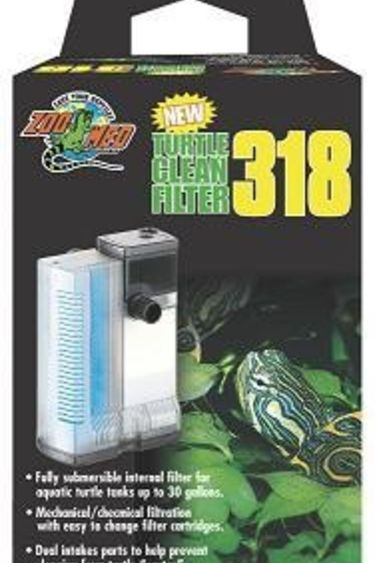 """Zoomed Filtreur """"Turtle Clean 318"""" / Submersible Filter"""