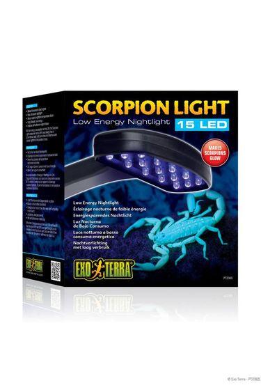 Exoterra Appareil d'eclairage pour scorpion 15 DEL