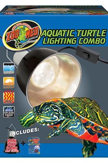 Zoomed Combo d'éclairage pour tortue aquatique / Aquatic turtle lightning combo