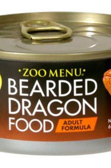 """Zoomed Nourr. """"Zoo Menu"""" pour barbu adulte 6 oz."""