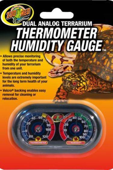 Zoomed Thermomètre et hygromètre analogue économique