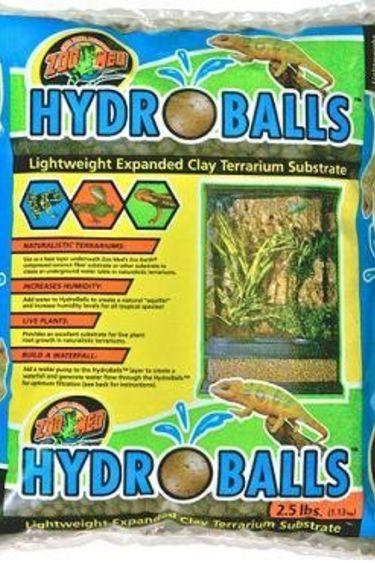 "Zoomed Substrat d'argile élargi ""Hydro Balls"" 2.5 lbs"