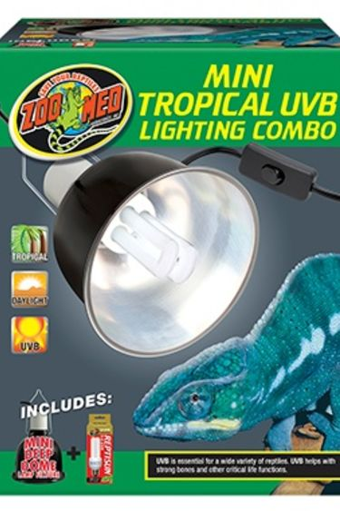 Zoomed Mini combo d'eclairage Tropical UVB