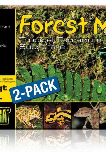 Exoterra Mousse de forêt Forest Moss Exo Terra, 2 x 7 L (2 x 7 pte)  Mousse de forêt Forest Moss Exo Terra, 2 x 7 L (2 x 7 pte)