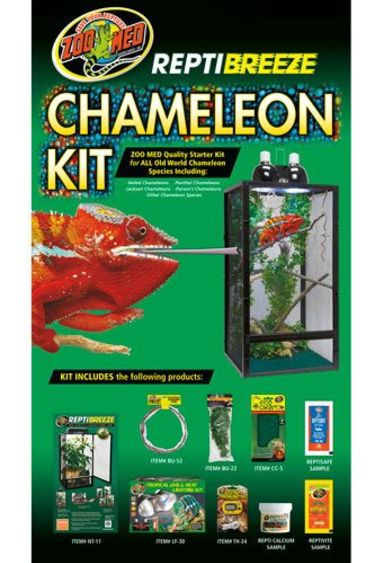 """Zoomed Kit  """"Reptibreeze"""" pour cameleon 16""""x16""""x30"""" NT-11CK"""