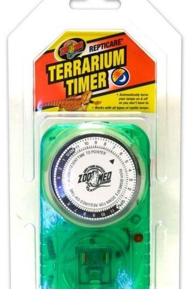Zoomed Minuterie pour terrarium