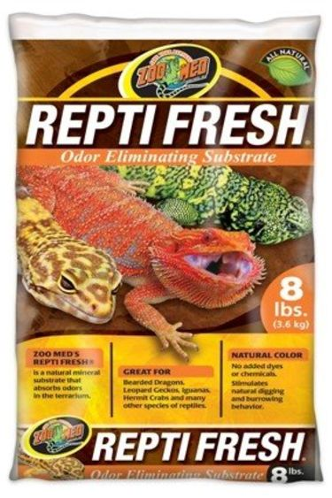 """Zoomed Sable élimine-odeur """"Repti Fresh"""" 8 lbs"""