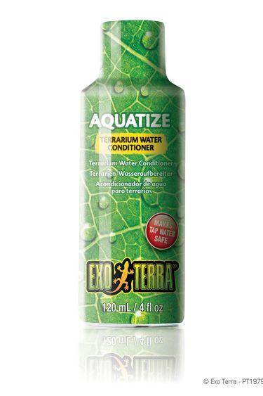 Exoterra Traitement de l'eau Aquatize 4 oz.