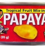 Zoomed A melanger avec nourriture en granule Papaye -  Tropical Fruit Mix-ins Papaya