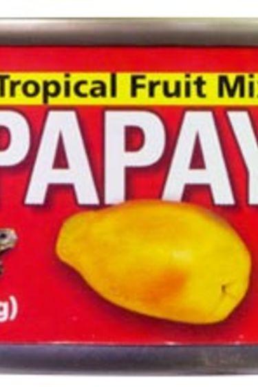 Zoomed Mélange pour nourriture en granule Papaye/Tropical Fruit Mix-ins Papaya