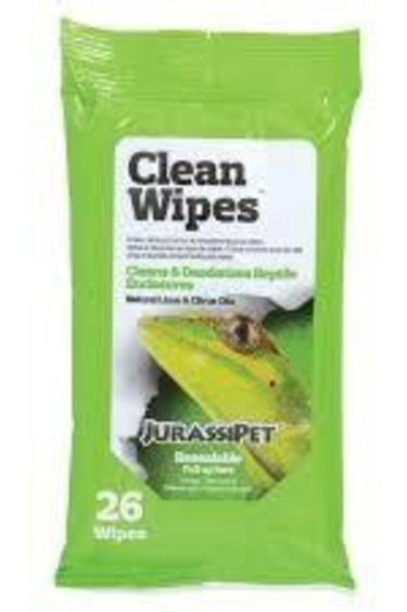 Jurassipet Lingettes nettoyant – Jurassipet CleanWipes paquet de 26