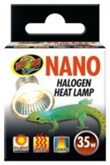 Zoomed Ampoule nano halogene chauffante 35 watts