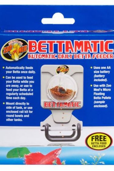 """Zoomed Distributeur nourriture """"Bettamatic"""" automatic daily betta feeder"""