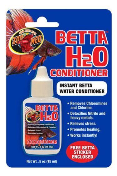 Zoomed Betta conditionneur d'eau 0.5 oz.