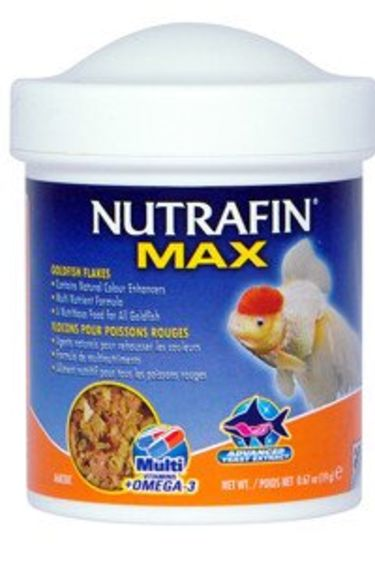 Nutrafin Flocons Max pour poissons rouges