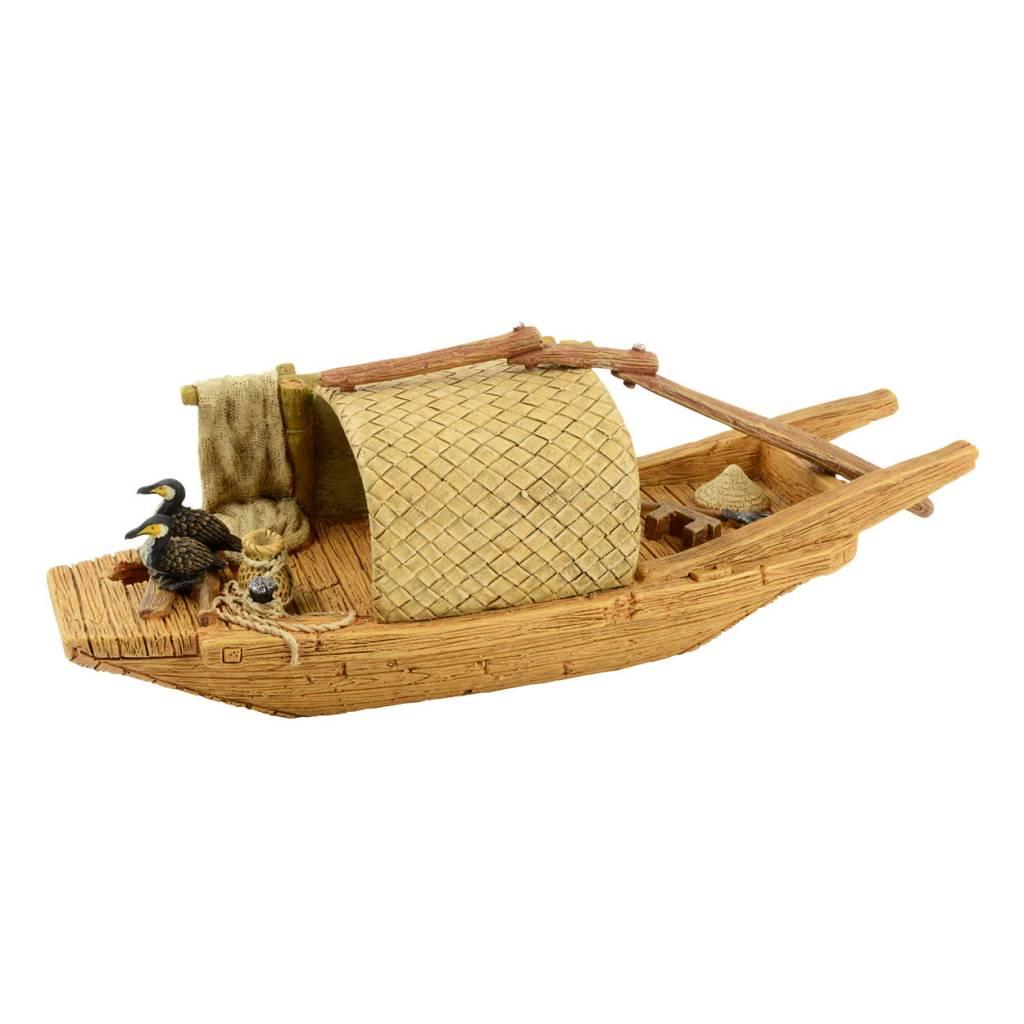 Treasures underwater Bateau de rivière japonais – Style B