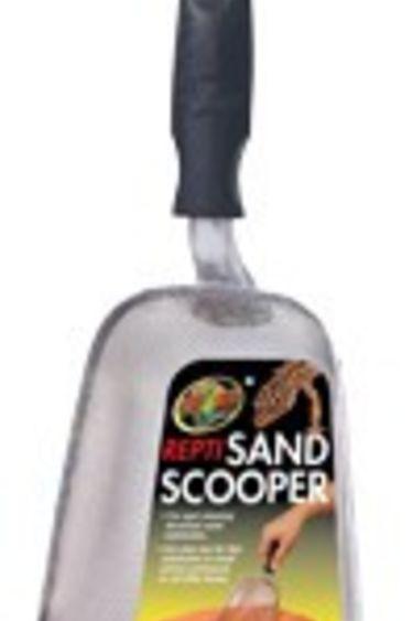 Zoomed Pelle de nettoyage pour sable