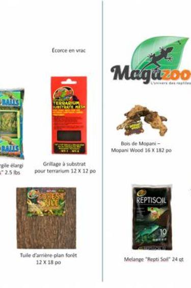 Magazoo Ensemble pour terrarium planté