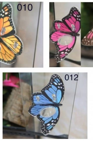 C3 Ledges Plateforme papillon à 1 contenant de 0.5 oz à ventouse/Butterfly Ledge