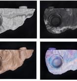 C3 Ledges Plateforme magnétique effilée pour gecko à 1 contenant 0.5 oz- Magnetic gecko ledge tapered