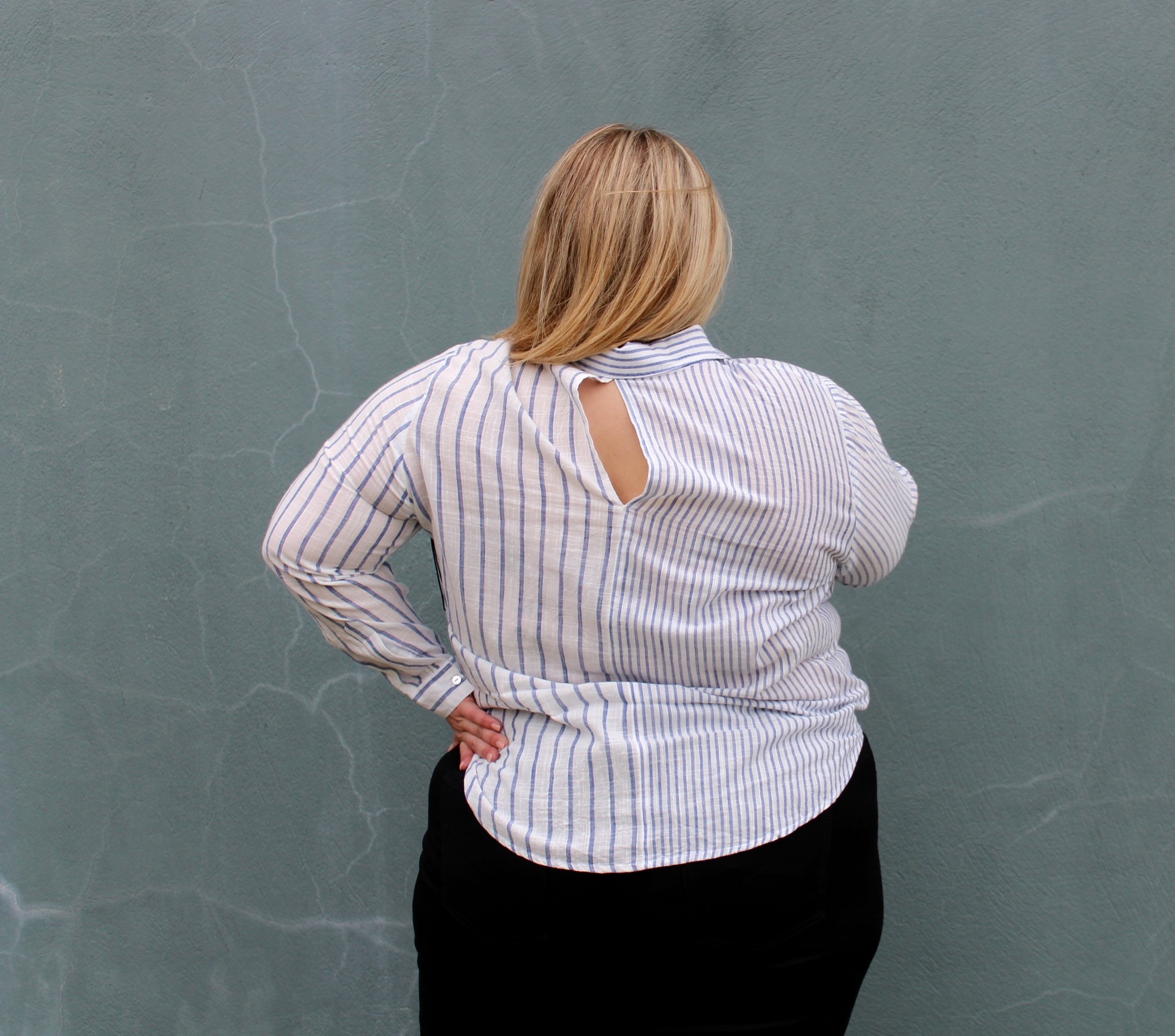 Dex Dex+ Stripe Shirt