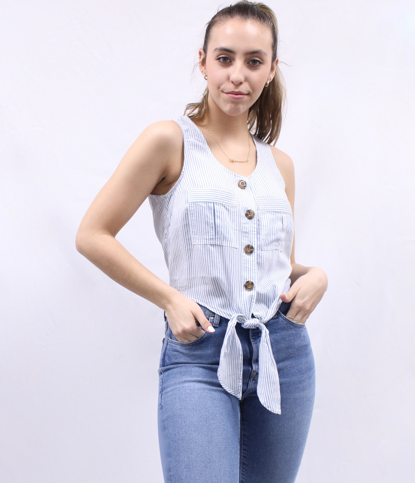 Dex Dex Crop Blouse