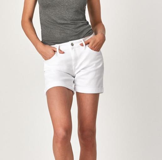 Mavi Mavi Pixie White Shorts