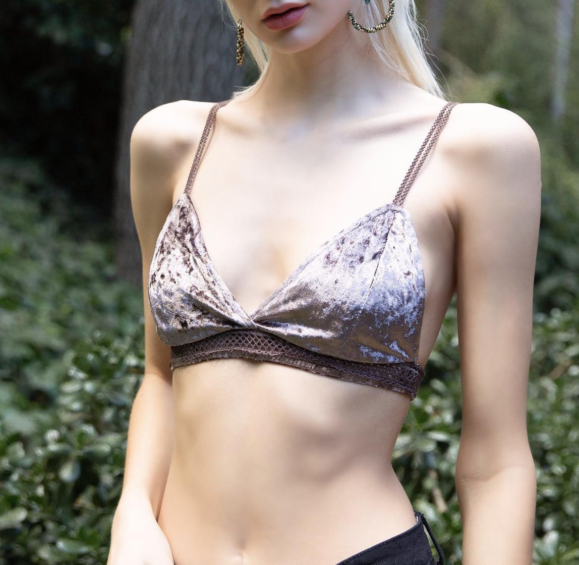 Velvet Bralette