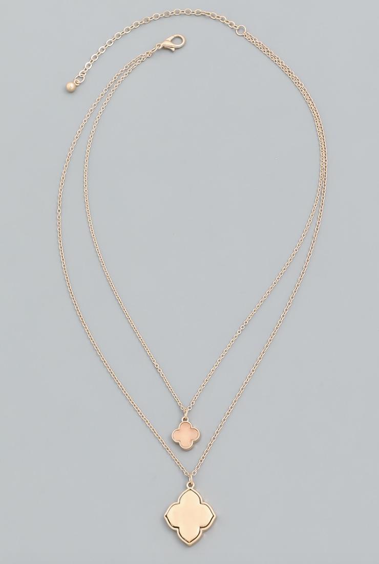 Clothz Kinda Peachy Necklace