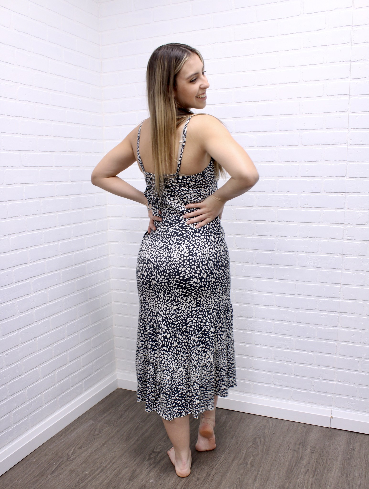 Saltwater Luxe Saltwater Luxe Dot Midi Dress