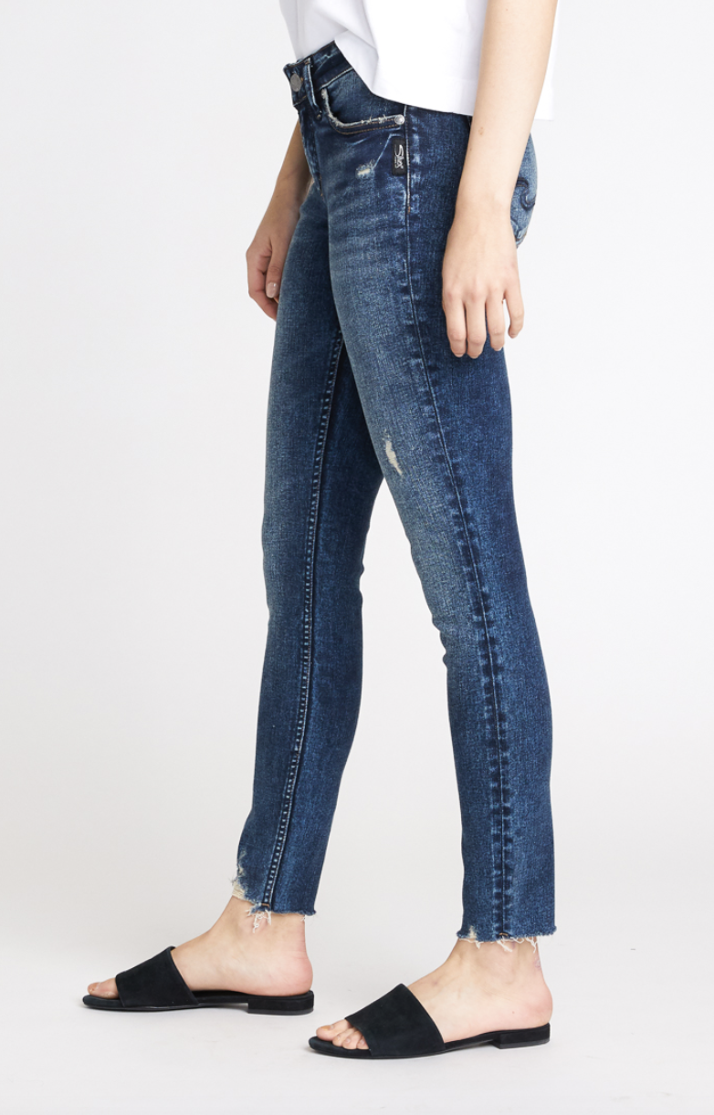 Silver Jeans Co. Elyse Skinny Jeans