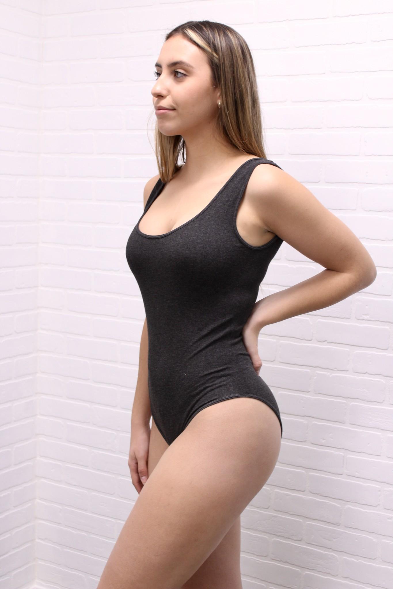 C'est Moi Bamboo Tank Bodysuit