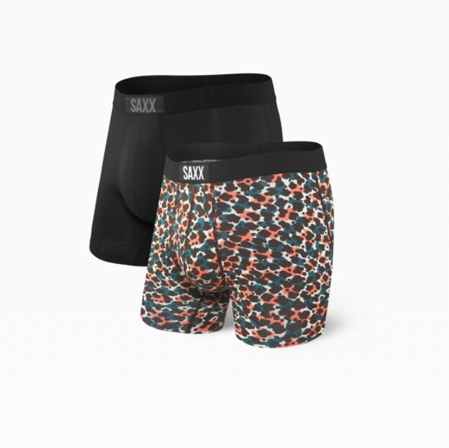 SAXX Underwear Saxx Vibe 2 Pack Animal Camo