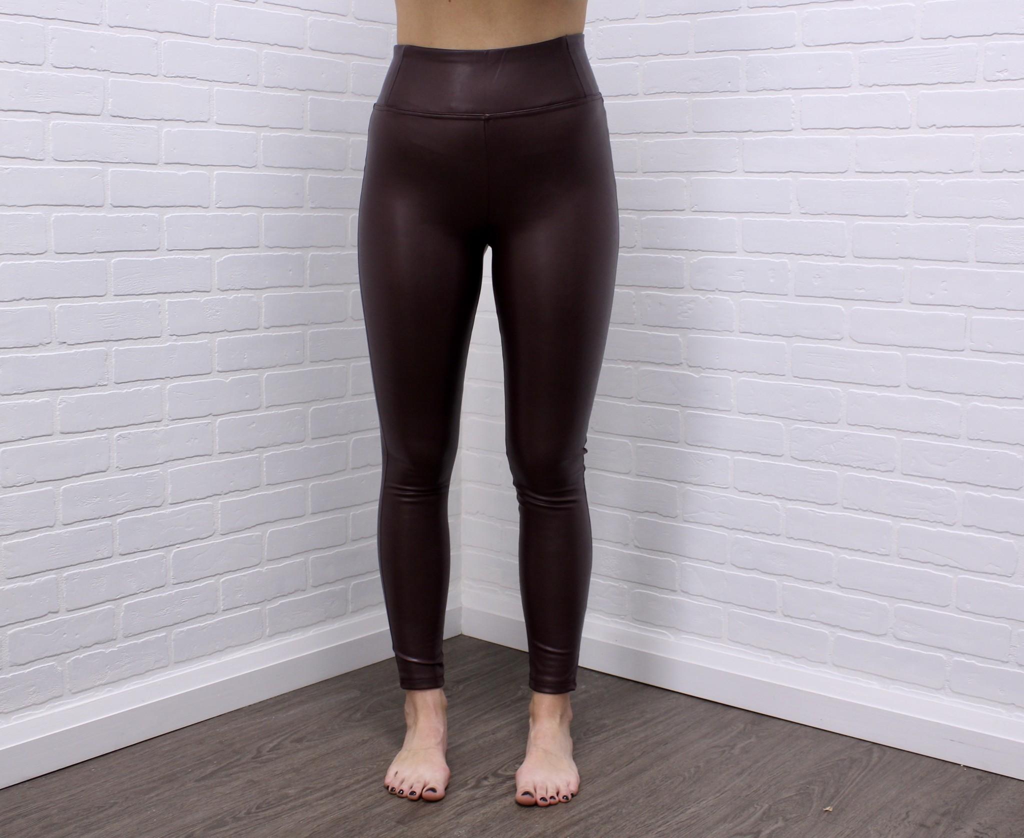 Dex Faux Leather Legging