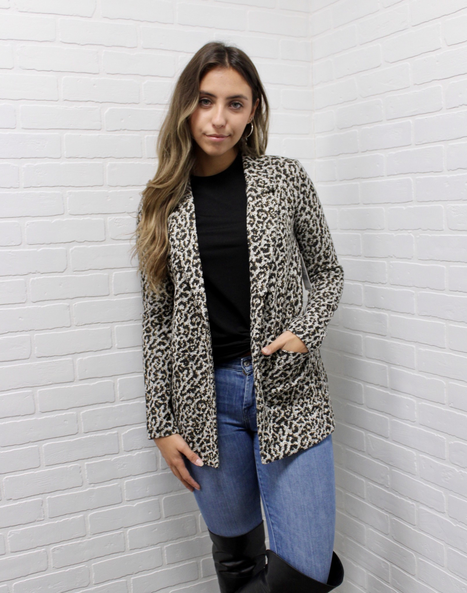 Dex Leopard Jacket