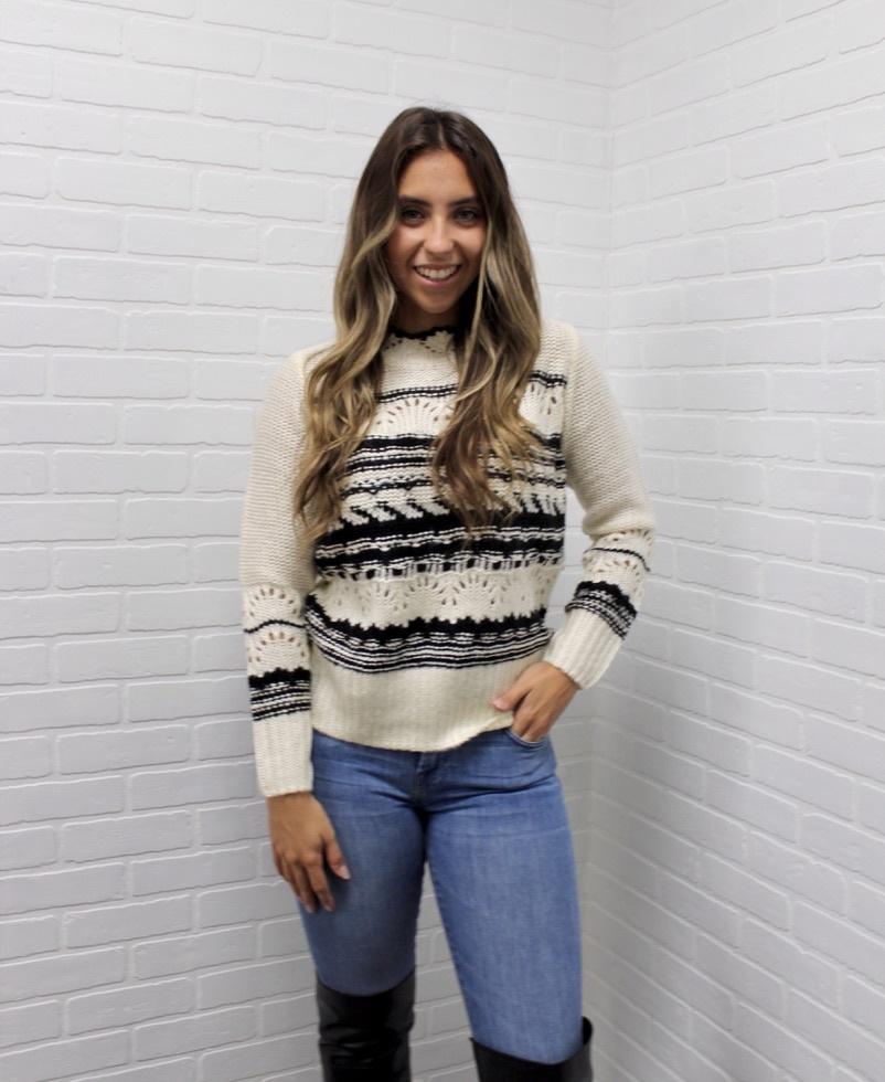 Dex Western Stripe Sweater