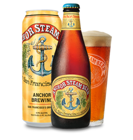 Anchor Steam Beer 6-Pack Bottles