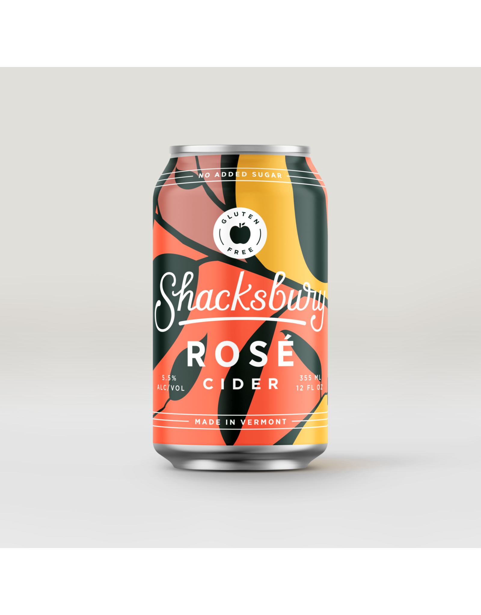 Shacksbury Dry Rose Cider 4-Pack Cans