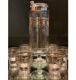 Martini  Cocktail Shaker Set—West Virginia Glassware