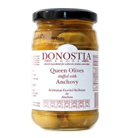 Donostia Foods Queen Olives Stuffed with Anchovies